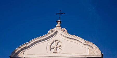 white chapel lisbon Stock fotó
