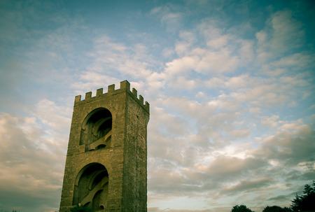 toren in Florence Stockfoto