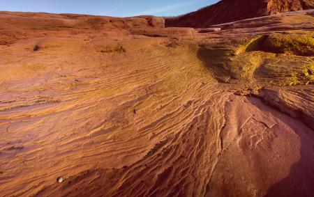 contours: contours of sandstone
