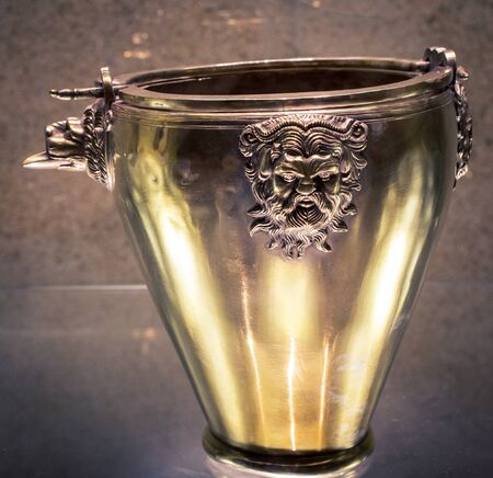 decorative urn: ornamental urn Stock Photo