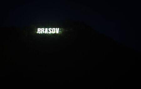 brasov: brasov sign