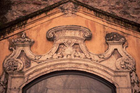 doorway: facade over doorway