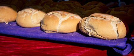 round: fresh round loaf