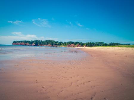 stretch of beach pei