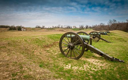 ミシシッピ州ビックスバーグを大砲します。 写真素材