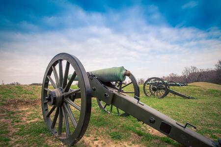 cannon Vicksburg Mississippi Banque d'images