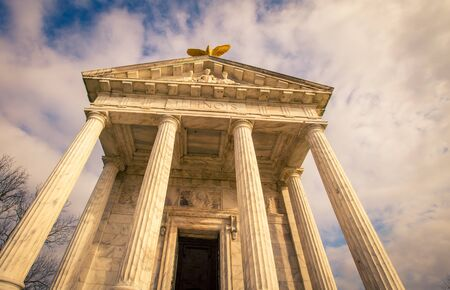 Illinois State Memorial in Vicksburg. Stock Photo