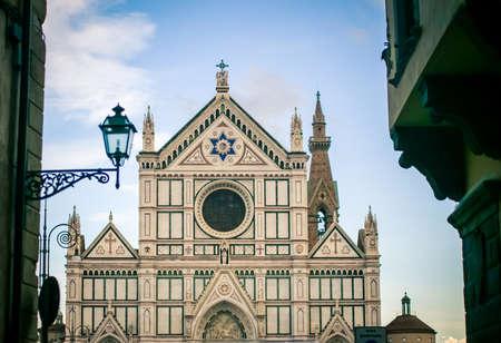 santa croce florence Stock Photo