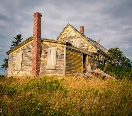 abandon house Stock Photo