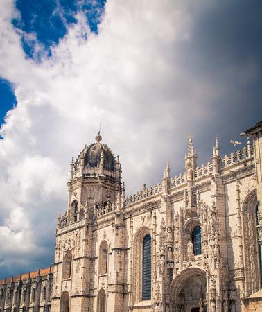 belem: Church in Belem Portugal Stock Photo