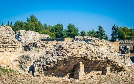santiponce roman ruins