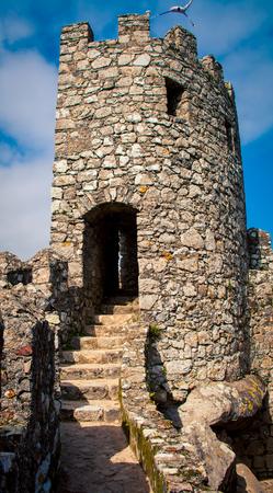sintra: stone fort sintra portugal