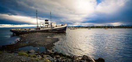 trawler: abandon trawler ushuaia