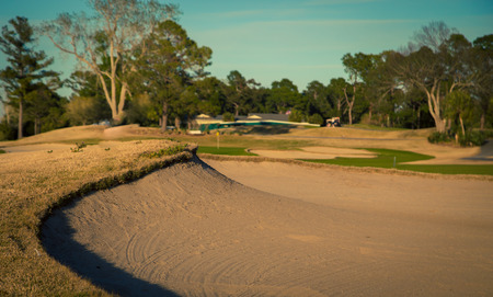 Sand trap in Myrtle Beach