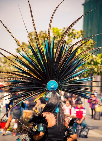 traditional Aztec headdress
