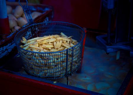 french fries street food
