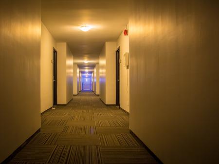 The corridor in a hotel Stock Photo - 94249491