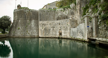 fort wall in kotor Montenegro