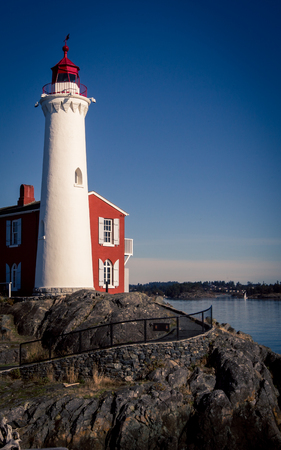 Lighthouse in Victoria British Colombia