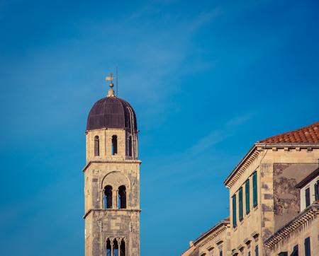 Church dome in Dubrovnik Croatia