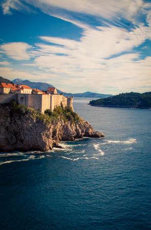 fortress city of Dubrovnik Croatia