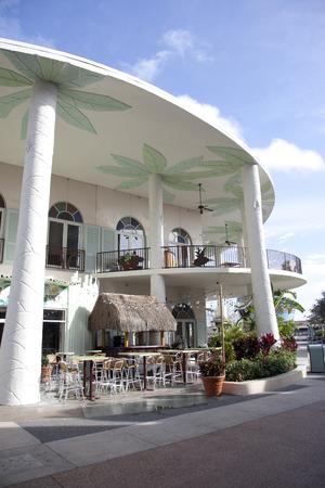 February 4, 2018: Orlando, Florida: Bongos Cuban Cafe at Disney Springs