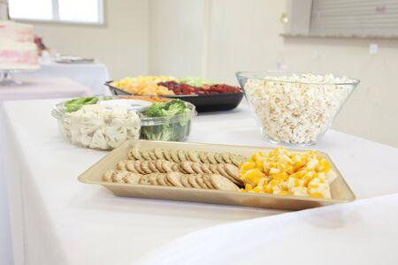 gluten free snacks Banco de Imagens