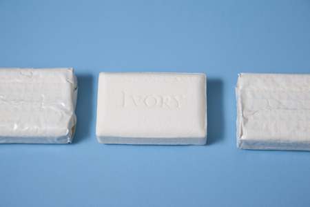 Halifax, Canada- June 1, 2019: Bars of Ivory brand soap