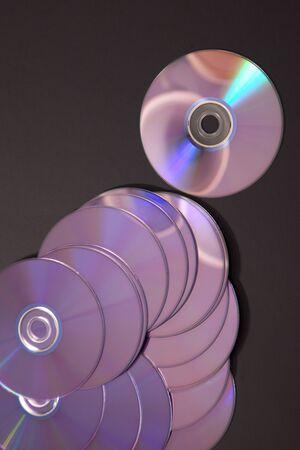 bunch of unused compact discs