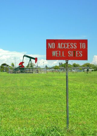 keepout: No Access to Oil Well (1of2)