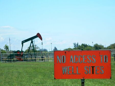 keepout: No Access to Oil Well (2of2)