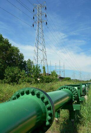 Brunei Crude Oil Pipeline Stock Photo - 467644