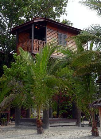 cabane plage: Langkawi, Malaisie. Beach Hut  cabine