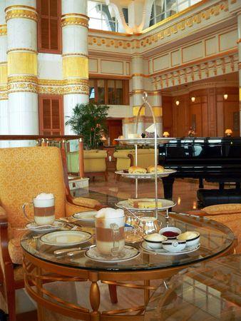 browns: Brunei. Set High-Tea Table (2of2)