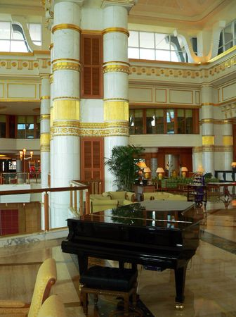 eminence: Brunei. Black Grande Piano 1of2