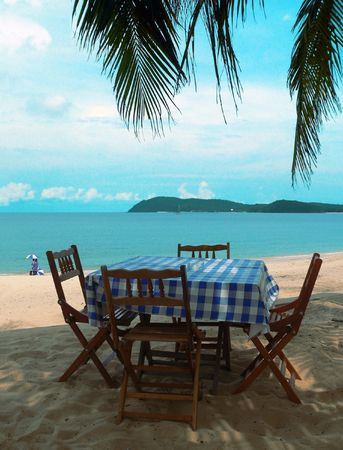 dining table and chairs: Langkawi Beach Dining Table & Chairs