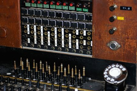 Old Telephone Exchange  Standard-Bild