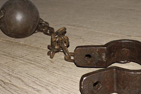 the ball and chain Stock Photo - 830248