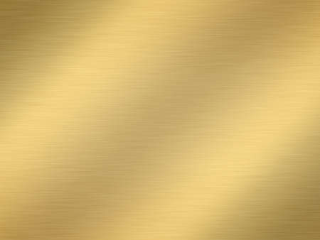 precious metal: a large sheet of rendered finely brushed gold as background