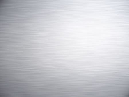 brushed aluminium: a large sheet of rendered brushed steel or metal as background