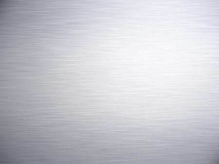 acier bross�?: une grande feuille dacier ou de m�tal balay� rendu comme fond Banque d'images