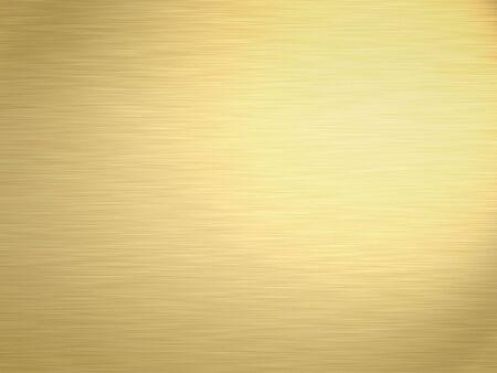 carat: a large sheet of rendered lightly brushed shiny gold Stock Photo