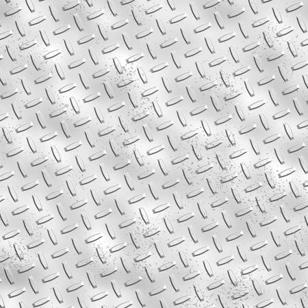 a large sheet of alloy,silver or nickel diamond or tread plate with rough etchings Stock Photo - 1066993