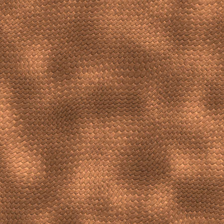 scaly: a very large illustration of scaly brown lizard skin or scales Stock Photo