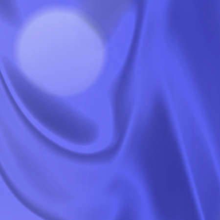 protecting: an illustration of the moon shining through purple  blue curtains Stock Photo