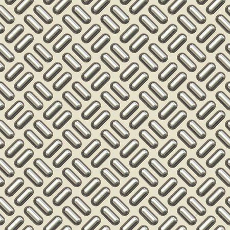 checkerplate: a nice large sheet of new and diamond or tread plate Stock Photo