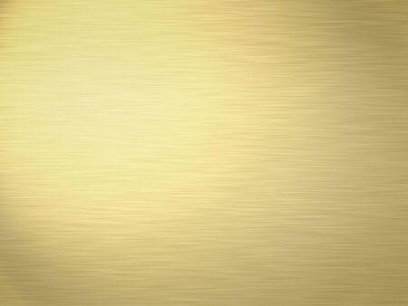 lightly: a large sheet of rendered lightly brushed shiny gold Stock Photo