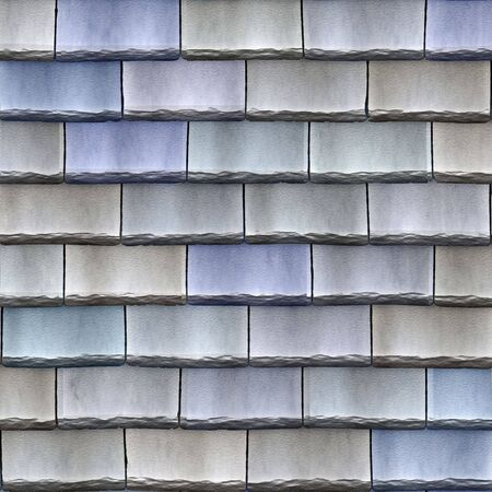 roof shingles: a large image of blue stone roof shingles or tiles