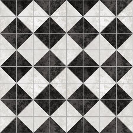 marble flooring: grande immagine di sfondo a scacchi di diamante pavimento in marmo Archivio Fotografico