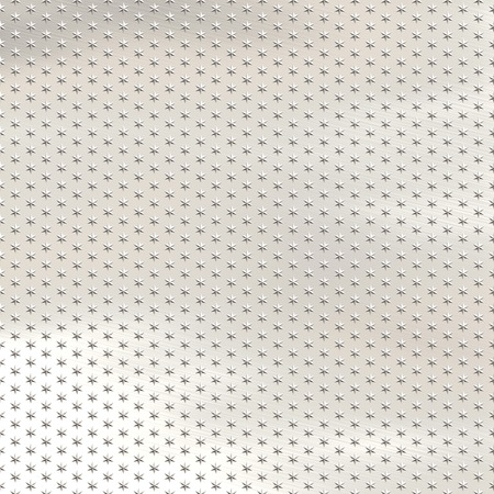 lightly: a large image of metallic stars on a lightly brushed metal background